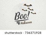 happy halloween. invitation to... | Shutterstock .eps vector #736371928