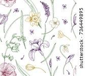 Elegant Seamless Pattern With...