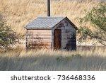 Old vintage shack