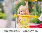 playground. | Shutterstock . vector #736469446