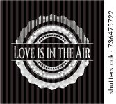 love is in the air silver badge ...