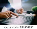 pictures of businessman that... | Shutterstock . vector #736538956