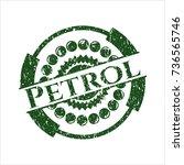 green petrol rubber seal | Shutterstock .eps vector #736565746