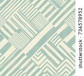 seamless hand drawn stripe... | Shutterstock .eps vector #736578952