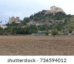 majorca   churches   picture... | Shutterstock . vector #736594012
