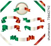 set of italian ribbon