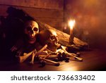 Candle Lighting Of Skulls And...