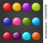 big set circle web bubbles....