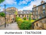 Scenic Sight In Edinburgh With...