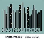 urban barcode   Shutterstock .eps vector #73670812