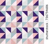 geometric pattern   Shutterstock .eps vector #736754686