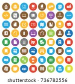 books icons | Shutterstock .eps vector #736782556