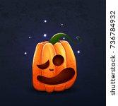 vector color illustration of... | Shutterstock .eps vector #736784932