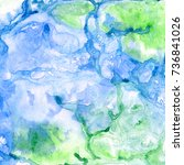 abstract watercolor background. ... | Shutterstock . vector #736841026