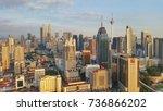 kuala lumpur  malaysia  ... | Shutterstock . vector #736866202