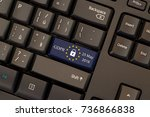 general data protection... | Shutterstock . vector #736866838