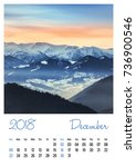 Nature Photo Calendar With...