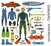 underwater hunting and hunter