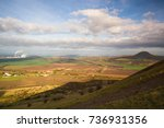 view from the top of rana hill. ... | Shutterstock . vector #736931356