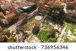 aerial birds eye view photo...   Shutterstock . vector #736956346