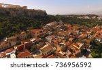 aerial birds eye view photo...   Shutterstock . vector #736956592