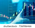 financial accounting of profit...   Shutterstock . vector #736986466