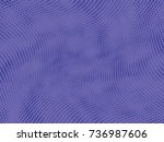 abstract halftone pattern... | Shutterstock .eps vector #736987606