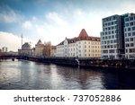 berlin  germany   january 22 ... | Shutterstock . vector #737052886
