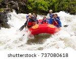 bend  oregon   6 12 2009  group ... | Shutterstock . vector #737080618