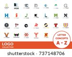 logo collection. letter...