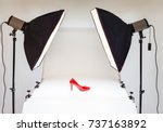 photo table for product... | Shutterstock . vector #737163892