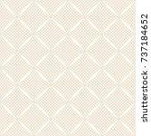vector seamless pattern. modern ... | Shutterstock .eps vector #737184652