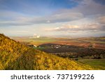 view from the top of rana hill. ... | Shutterstock . vector #737199226