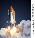 Space Shuttle Launch. 3d...