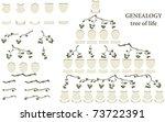 geneology | Shutterstock .eps vector #73722391