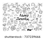 Happy Summer Doodle