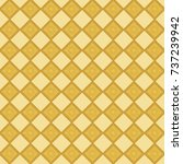 geometric repeating pattern of... | Shutterstock . vector #737239942