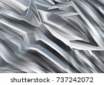 decorative abstract black and... | Shutterstock . vector #737242072
