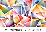 Bright Colorful Abstract...
