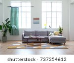 indoor renderings | Shutterstock . vector #737254612
