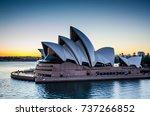 sidney  australia   november 2  ...   Shutterstock . vector #737266852