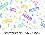 seamless pattern for... | Shutterstock . vector #737274562
