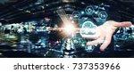 cloud computing service  cloud... | Shutterstock . vector #737353966