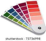 color guide | Shutterstock .eps vector #73736998