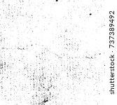 grunge background vector black... | Shutterstock .eps vector #737389492