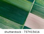 abstract geometric shapes of... | Shutterstock . vector #737415616