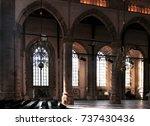 Church Interior  Gothic Style