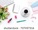 Woman Desk Design With...