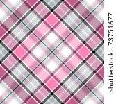Seamless Pink Gray White Cross...