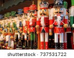 Colorful Nutcrackers At A...